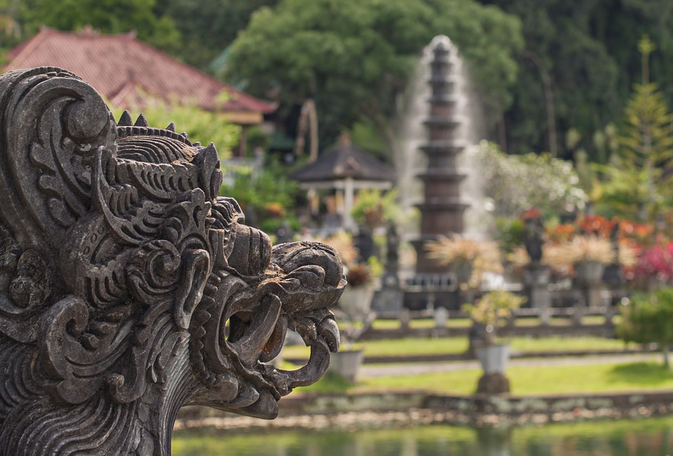 Bali, Water Palace, Holiday, Places Of Interest, Dragon