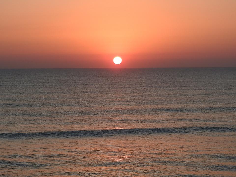 Sunrise Florida Beach Free Photo On Pixabay