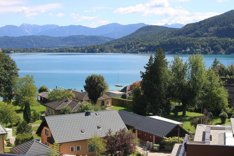 Kết quả hình ảnh cho Hồ Worthersee