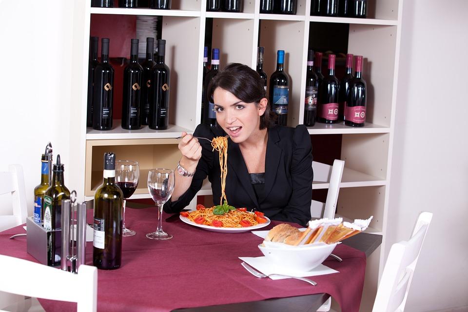 Restaurant, Hunger, Spaghetti, Pasta, Beauty, Taste
