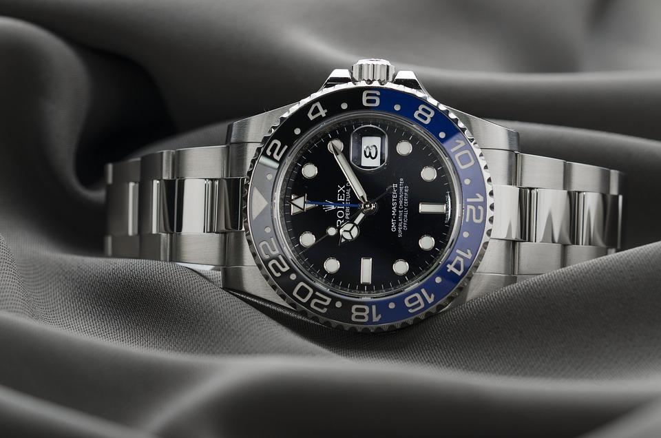 ロレックス, 時計, 時間, 豪華な, スイス, 鋼, 金属, ダイヤル, ブレスレット, グレーの時間