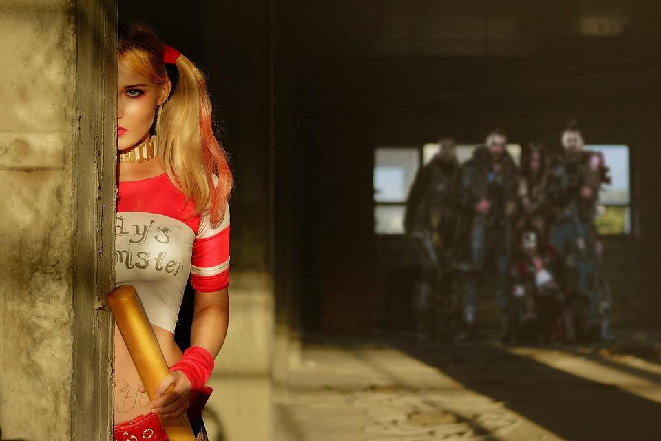 Cosplay, Harley Quinn, Ragazza, Creativo, Bella Ragazza
