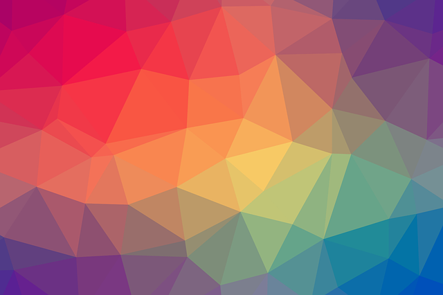 Free Colorful Geometric Wallpaper: Free Illustration: Color, Triangle, Geometric