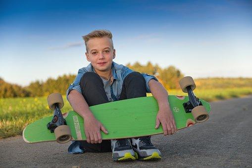 Longboard Skateboarder Skateboard Juged Po