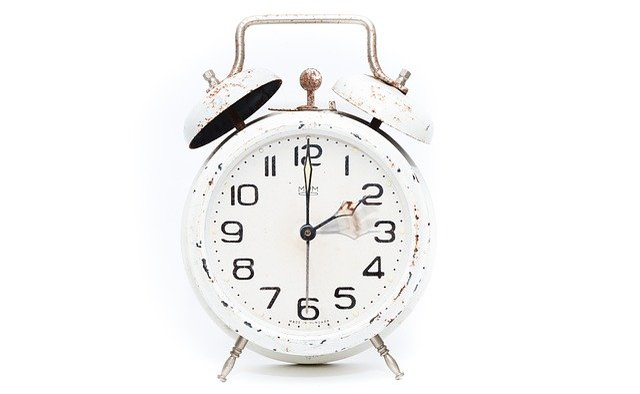 free photo  alarm clock  winter time change