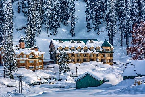 Landscape, View, Himalayas, Kashmir, Sky