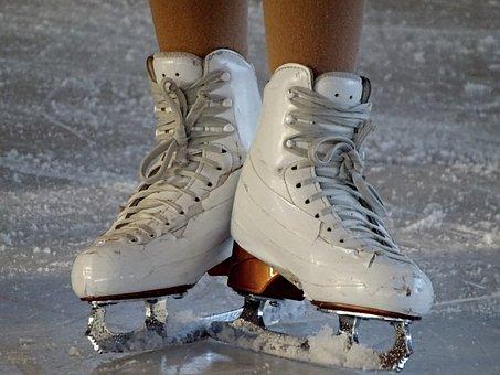 Skates, Figure Skating, Artificial Ice