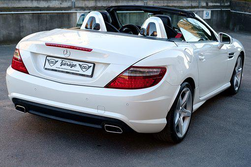 Car, Mercedes, Slk, Auto, Transport