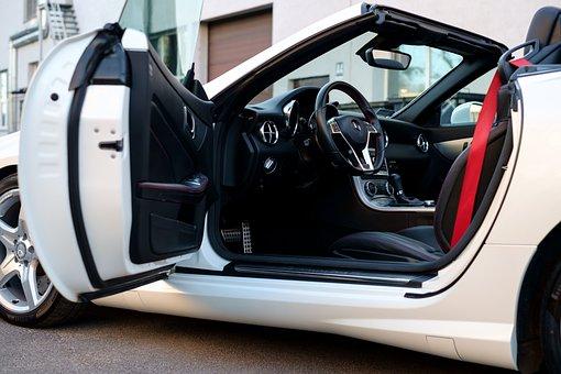 Car, Mercedes, Slk, Auto, Transport