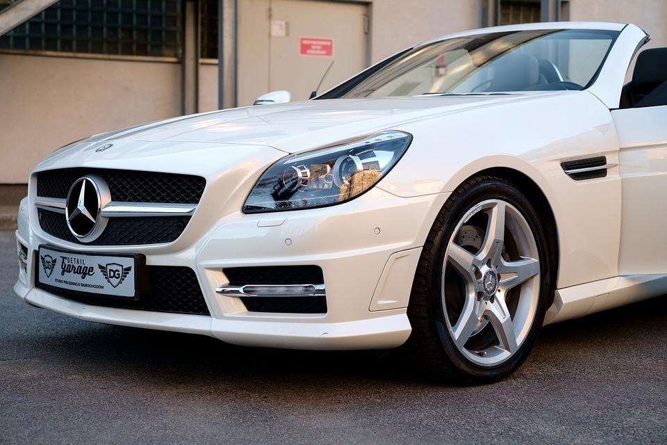Auto, Mercedes, Slk, Vervoer, Design, Luxe, Voertuig