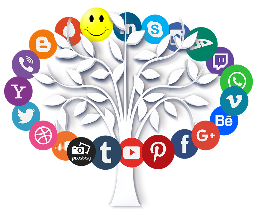 Online, Internet, Icon, Tree, Leaves, Symbols, Www, Web