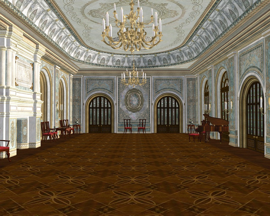 Ballroom Royal Majestic · Free image on Pixabay