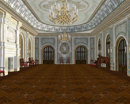 Ballroom Royal Majestic Palace Architectur