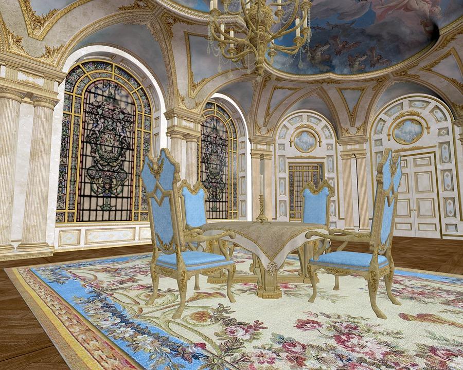 salle manger lgant royale dcor intrieur