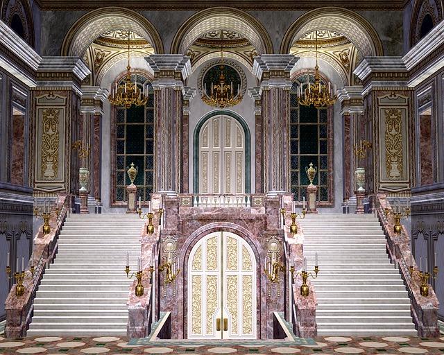 Staircase Ballroom Luxury Free Image On Pixabay