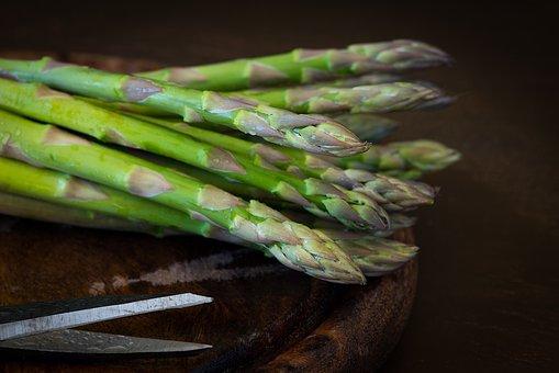 Asparagus, Green Asparagus, Green, Eat