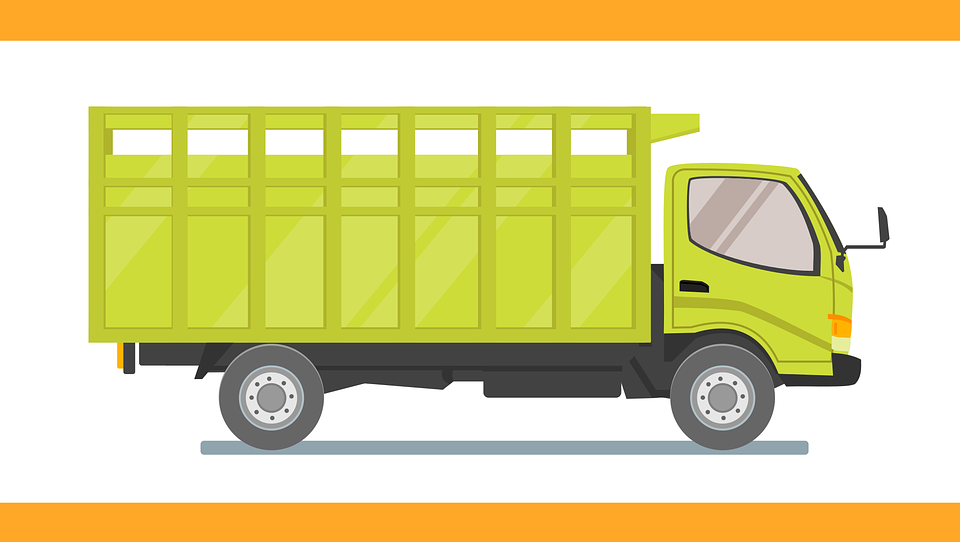 Free vector graphic: Truck, Car, Vehicle, Transportation - Free ...