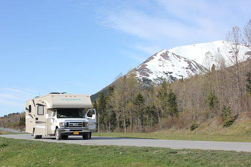Alaska, Open Road, Rv, Alaska, Open Road
