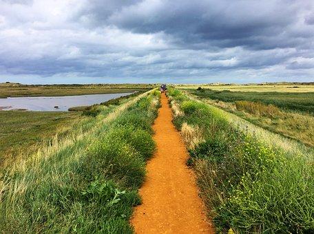 Sentier Du Littoral, Marais, Norfolk