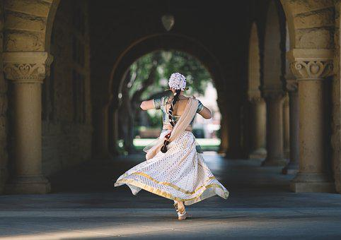 Hindu, India, Woman, Dance, Tradition