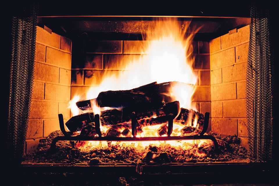 Blaze, Fireplace, Bonfire, Burn, Coal, Cozy, Danger