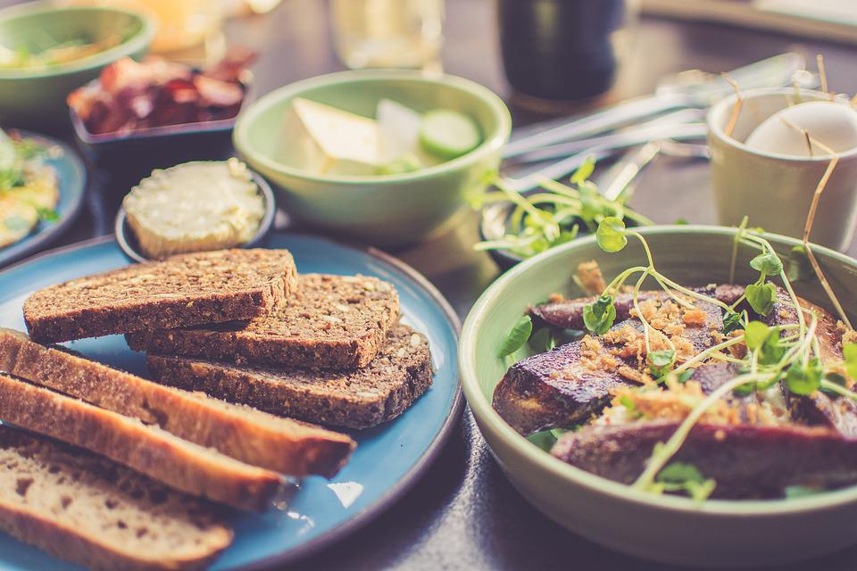 Pan, Desayuno, Cena, Sana, Cocina, Deliciosa, Plato