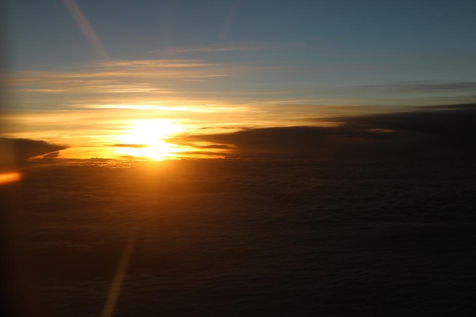 62+ Gambar Awan Sunrise