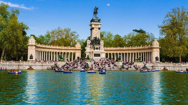 Vista Parque el Retiro Madrid