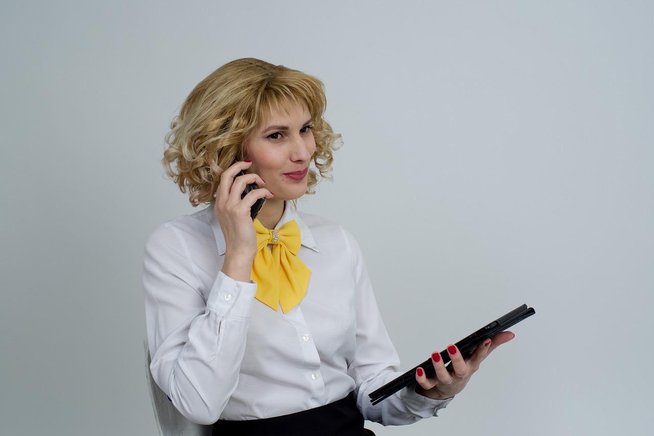 Business Woman Telephone Phone - Free photo on Pixabay
