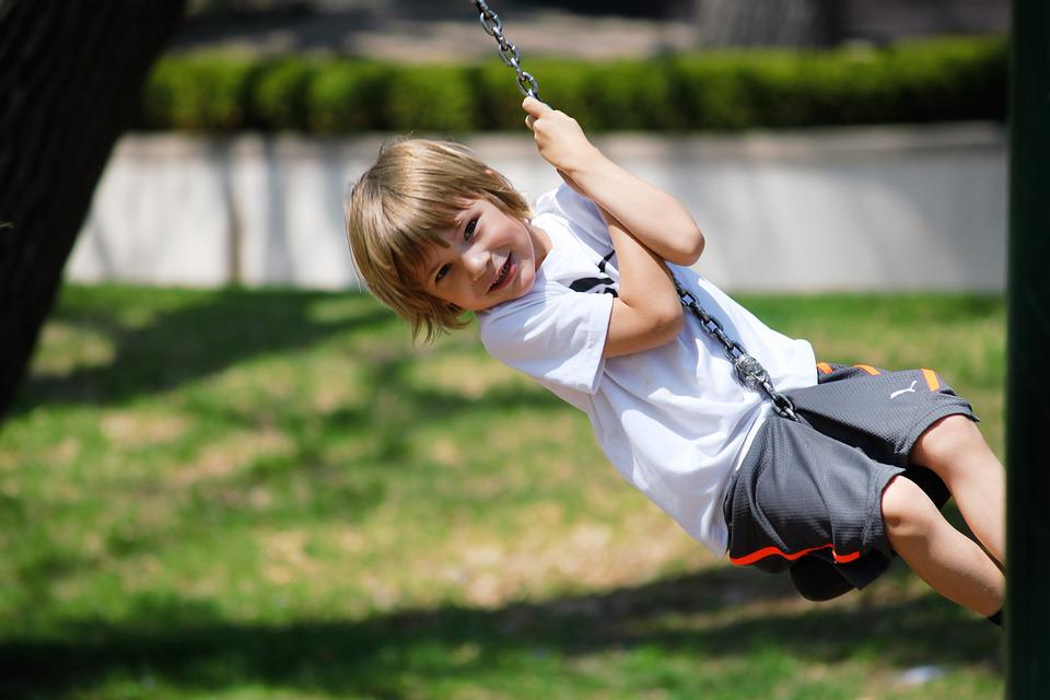 Swing, Boy, Summer, Child, Fun, Happy, Childhood, Park