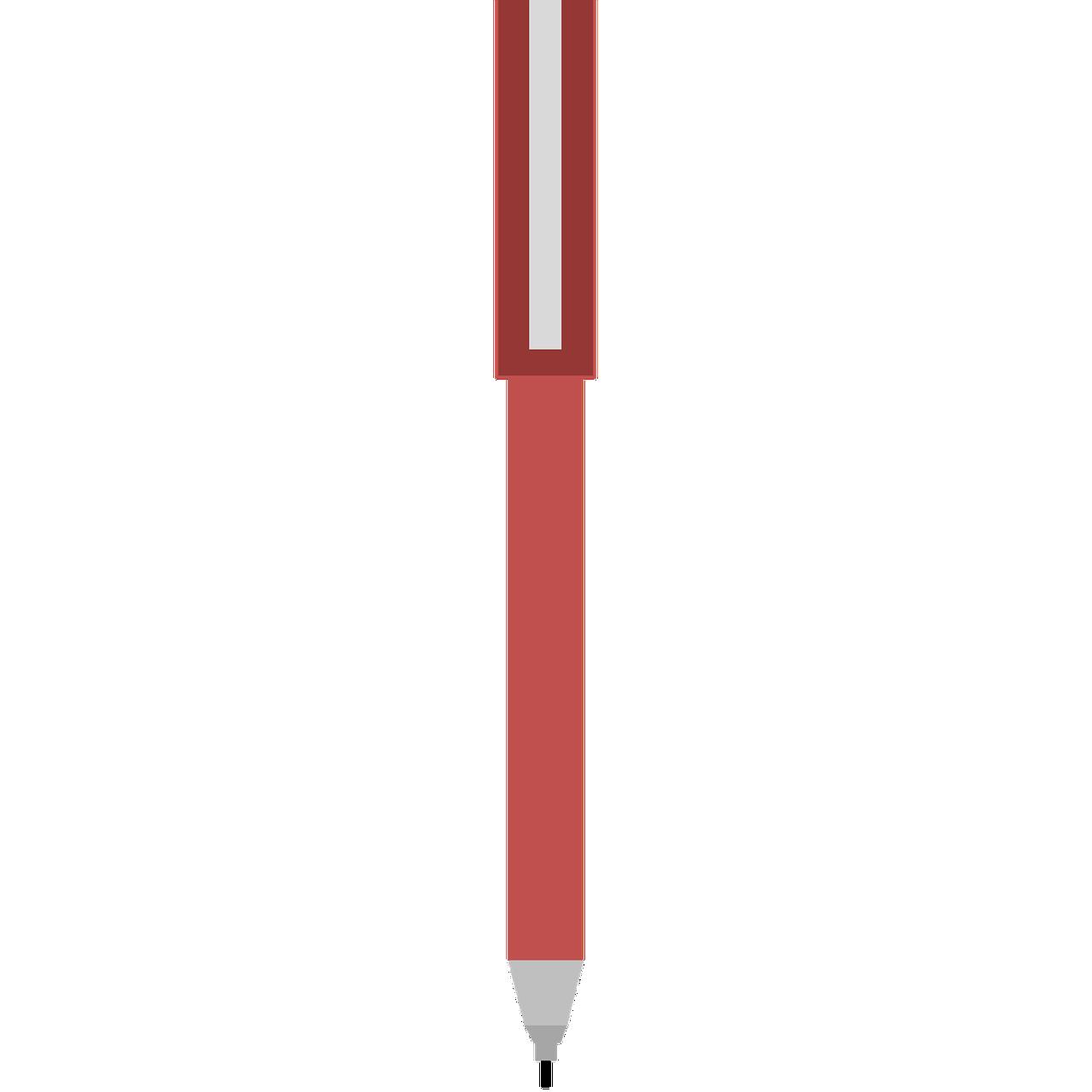 ballpoint pen clipart school free image on pixabay https creativecommons org licenses publicdomain