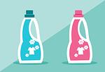 soap, softener, clean