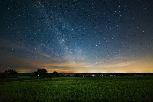 Milky Way, Astro, Starry Sky, Star