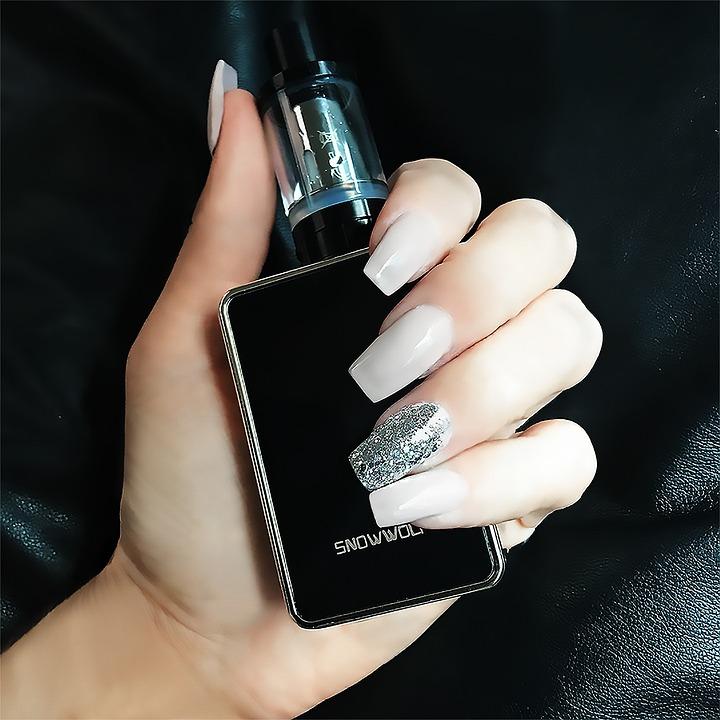 Hand Glitter Nails Nail · Free photo on Pixabay