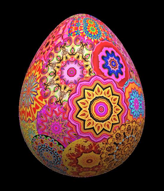Easter Egg Colorful Mandala Png · Free image on Pixabay