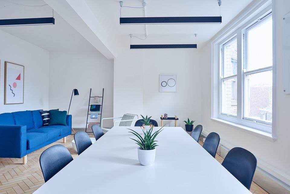 椅子, 会議室, 現代, 家具, 屋内で, インテリア デザイン, ルーム, ソファ, テーブル, ウィンドウ