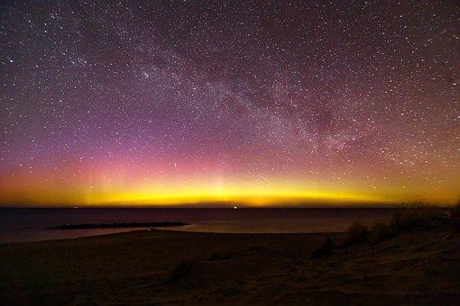 The Northern Lights, Aurora, Denmark