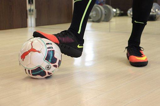 Futebol, Futsal, Bola, Esportes, Pés