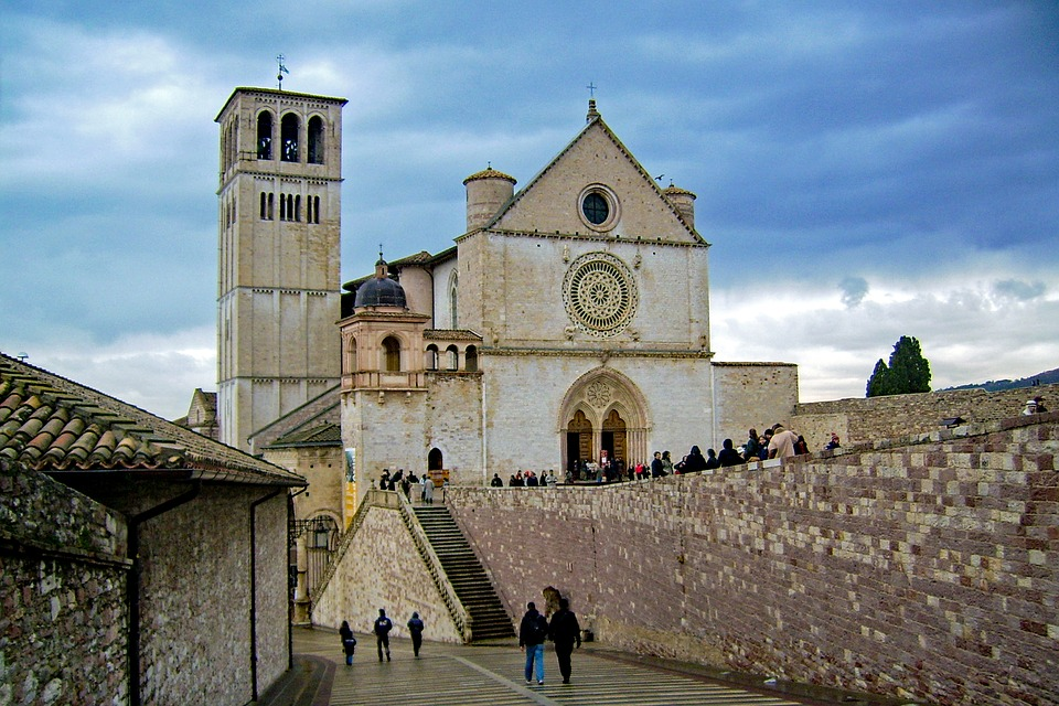 Asís, San Francisco, Basílica De San Francisco, Perugia