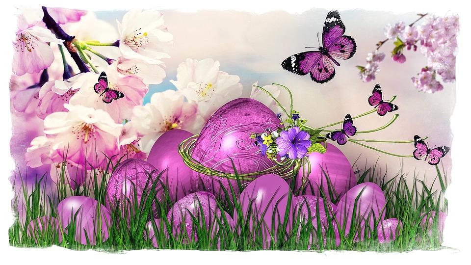 Pasen, Pasen Groet, Easter Egg, Vrolijk Pasen