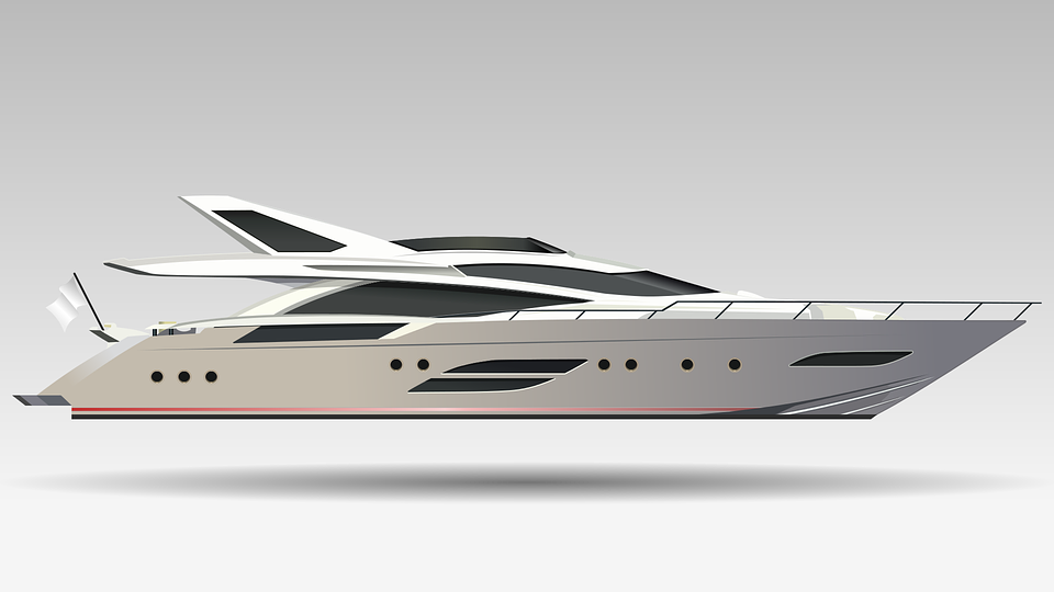 Boat, Yacht, Realistic, Technology, Transport, Luxury
