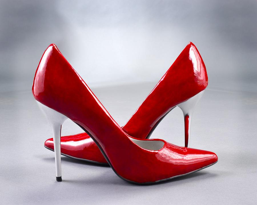 High Heels Pumps Red Ladies - Free photo on Pixabay