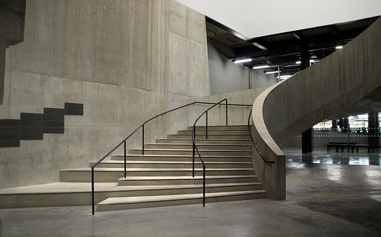 Londres, Tate Modern, Galeria, Escadas