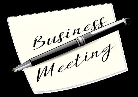 Business, Pen, Office, Meeting