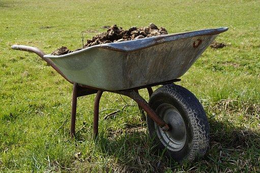Wheelbarrow, Farm, Crap, Agriculture