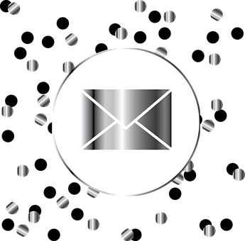 Email, Webmail, Post, Silver, Icon