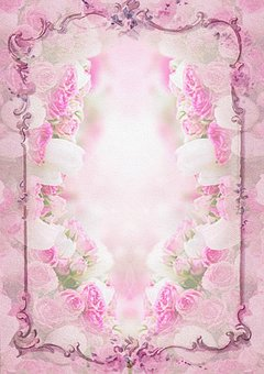 Frozen Eiskönigin Holz Bilderrahmen in rosa oder beere für Mädchen