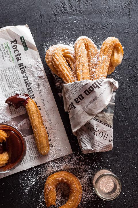Churros Kue Cookie Makanan Foto Gratis Di Pixabay
