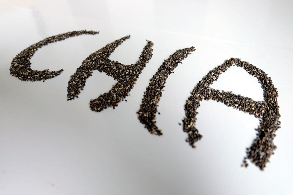Semi Di Chia, Chia, Semi, Salvia Hispanica, Fibre