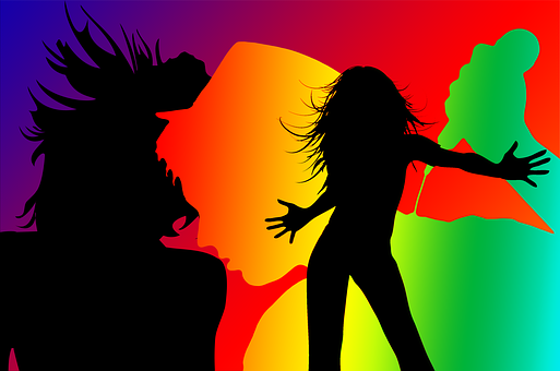 Silhouette Dance Music Abstract Background: Dance Images · Pixabay · Download Free Pictures